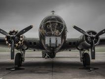 B17 fortaleza 'Memphis Belle' del vuelo Imagen de archivo libre de regalías