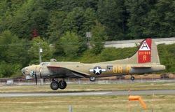 B-17G Flugwesen-Festung stockbilder
