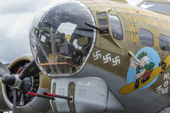 B-17G Flugwesen-Festung stockfotos