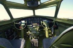 B-17G WO.II-bommenwerper die in Europa vloog Royalty-vrije Stock Afbeeldingen