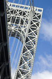 b George Washington bridge Zdjęcie Royalty Free