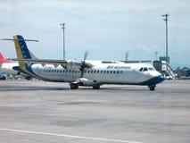 B&H Airlines ATR 72 Arkivbild