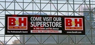 B&H NYC的照片商店 库存照片