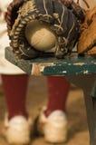 B-Handschuh Lizenzfreies Stockbild