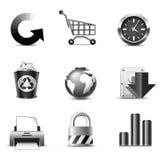 b ikon internetów serie w ilustracja wektor