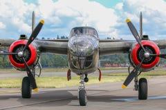 B-25J米歇尔轰炸机 库存照片
