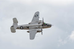 B-25J Mitchell Photo Fanny on display Stock Photos