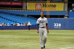 B J Upton of the Tampa Bay Rays Stock Photography