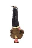 B-jongen vorst op hoofd Stock Foto