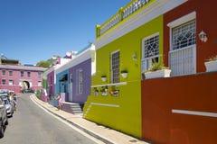 B0 Kaap, Cape Town, Afrique du Sud Image libre de droits
