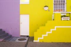 B0 Kaap, Cape Town, Afrique du Sud Photographie stock