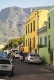 B0 Kaap, Cape Town, Südafrika Lizenzfreies Stockfoto