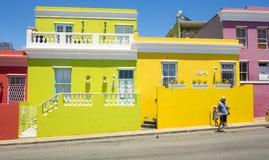 B0 Kaap, Cape Town, Südafrika Stockfotografie