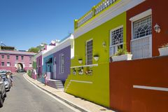 B0 Kaap, Cape Town, Zuid-Afrika Royalty-vrije Stock Afbeelding