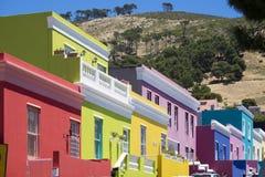 B0 Kaap, Cape Town, Zuid-Afrika Stock Afbeeldingen