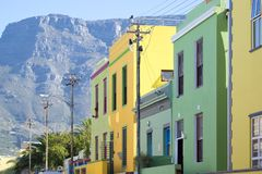 B0 Kaap, Cape Town, Zuid-Afrika Royalty-vrije Stock Foto