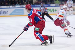 B. Kiselevich (55) in action Stock Photography