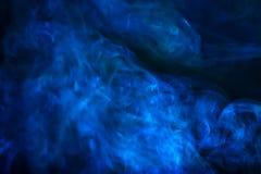 B??kit tekstury dymny abstrakcjonistyczny t?o zdjęcie stock