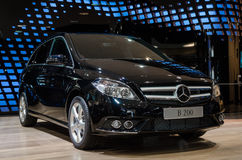 B-klasseneue generation Mercedes-Benzs Stockfotografie