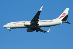 B-KXG Boeing 737-800 della linea aerea precisa di Hong Kong Immagine Stock Libera da Diritti