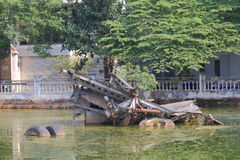 B52 lake Hanoi Vietnam Stock Photo