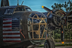 B24 Liberator Heavy Bomber Royalty Free Stock Image