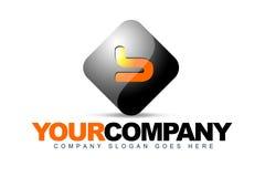 B listowy Logo Obrazy Stock