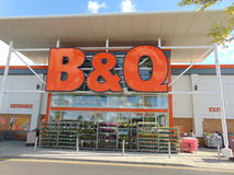 B & loja de Q imagem de stock royalty free