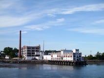 B & M被烘烤的豆工厂 波特兰,缅因 库存照片