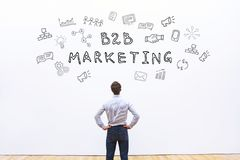 B2B-Marketing lizenzfreie stockbilder