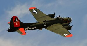 B-25 Mitchell Bomber Stockfotos