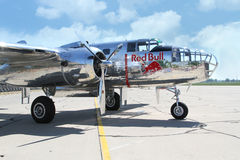 B-25 Mitchell bomber Royalty Free Stock Photography