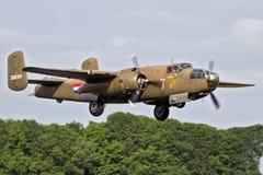 B-25 Mitchell bombowiec samolot Zdjęcie Stock