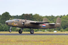 B-25 Mitchell Royalty Free Stock Photo