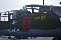 B-25 Mitchell Medium Bomber lizenzfreies stockbild