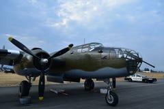 B-25 Mitchell Medium Bomber stockfotos