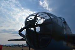 B-25 Mitchell Medium Bomber photographie stock libre de droits