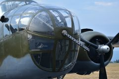 B-25 Mitchell Medium Bomber fotografie stock libere da diritti
