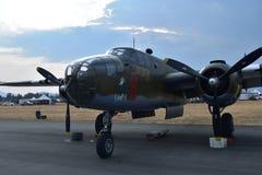 B-25 Mitchell Medium Bomber stockfotografie
