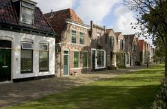 <b>Nederlandse straat</b> Royalty-vrije Stock Afbeeldingen