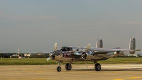 B-25 nordamericano Mitchell Immagine Stock