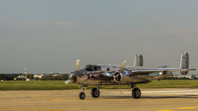 B-25 norte-americano Mitchell Imagem de Stock