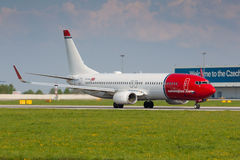 B737 Norwegian Stock Photos