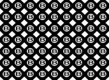 B ośmioboka kształta tło royalty ilustracja