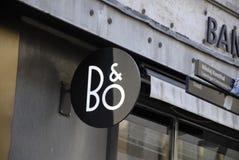 B&O ΠΑΥΣΗ 125 ΧΩΡΟΣ ΕΡΓΑΣΙΑΣ Στοκ Εικόνες