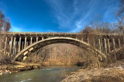 B&O Arch Bridge Royalty Free Stock Photo