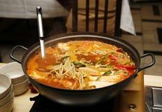 Błoga zdrowa Azjatycka kuchnia Obrazy Stock