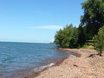 B Ordförande Park, NY Lake Ontario royaltyfri bild