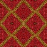 Błoto Odziewa Afro wosku Bezszwowego projekt royalty ilustracja