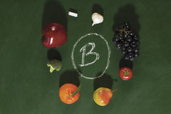b owoc warzyw witamina Obrazy Royalty Free